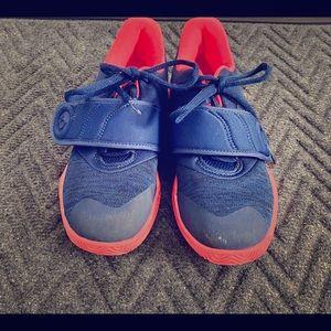 (KD) Nike little boys basketball shoes.